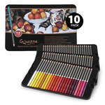 10-Pack Cezanne Colored Pencils Tin Set of 72
