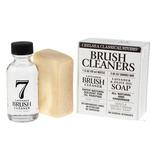 Chelsea Classic Studio Brush Cleaner Sampler Set - 1oz. Lavender Brush Cleaner & Lavender & Olive Oil All Natural Brush Soap