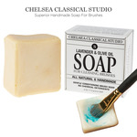 Chelsea Lavender & Olive Oil All Natural Brush Cleaner & Conditioning Soap