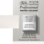 Winsor & Newton Professional Watercolor Half Pan - Chinese White