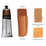 Chroma Atelier Interactive Artists Acrylic Raw Sienna Dark 80 ml