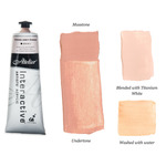 Interactive Professional Acrylic 80 ml Tube - Toning Grey Pinkish