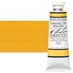 M Graham Oil Color 1.25Oz/37Ml Chrome Tin Yellow
