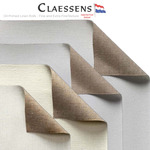 Claessens Oil Primed Linen Rolls - Fine and Very Fine Texture