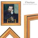 Classique Gold Leaf Wood Frames