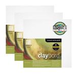 "Buy 2 Get 1 Claybord 1/8"" Flat Panel Bundle  8X8"