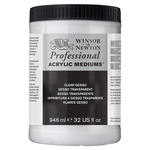 Winsor & Newton Artists Acrylic Mediums And Additives Clear Gesso 946 ml