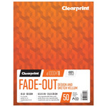 "Clearprint 1000H Vellum Fade-Out Pads 8"" x 8"" Grid 16 lb (50 Sheets)"