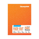 Clearprint 1000H Field Books 4X4 Grid, Ink Block Panel™ 6X8 16lb/60GSM 50 Sheets