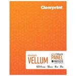 Clearprint 1000H Plain Field Books, Ink Block Panel™ 8.5x11 16lb/60GSM 50 Sheets