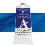 Grumbacher Academy Acrylic 90 ml Tube - Cobalt Blue Hue