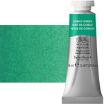 Winsor & Newton Professional Watercolor 14 ml Paint Tube - Cobalt Green