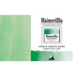 MaimeriBlu Superior Watercolour Half Pan - Cobalt Green Light