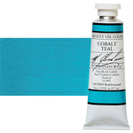 M Graham Oil Color 1.25Oz/37Ml Cobalt Teal