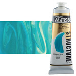 Matisse Structure Acrylic 75 ml Tube - Cobalt Teal