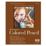 """Strathmore 400 Series Colored Pencil  Pad 11x14"""""""