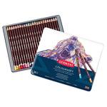 Derwent Coloursoft Tin Set of 24 - Assorted Colors