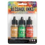 3Pk Holtz Alcohol Ink 1/2oz Conservatory Color Kit