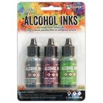 3Pk Holtz Alcohol Ink 1/2oz Cottage Path Color Kit