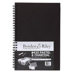 Borden & Riley Hard Cover Field Book #420B Pastel Paper 6X9 In