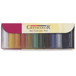 Cretacolor Art Chunky Colored Charcoal Set Set of 12