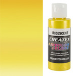 Createx Airbrush Colors 2oz Iridescent Yellow