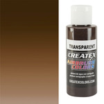 Createx Airbrush Colors 2oz Transparent Dark Brown