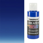 Createx Airbrush Colors 2oz Transparent Ultramarine Blue