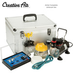 Creative Air Airbrush Set & Instructional DVDs