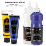 Creative Inspirations Acrylic Paints 120ml & 500ml