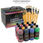 Jerry's Mural Artist Acrylic Paint & Brush Set