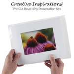 Creative Inspirations Pre-Cut Bevel 4Ply Presentation Kits