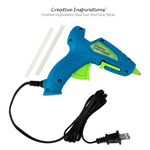 Creative Inspirations Glue Gun and Glue Sticks