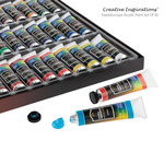 Creative Inspirations Kaleidoscope Acrylic Paint Set of 30