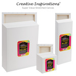 Creative Inspirations Super Value Stretched Canvas Packs