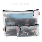 Jerry's Artarama Mesh Zipper Bags