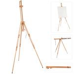 Millbrook All Media Beech Wood Field Easel - Oil Acrylic Watercolor Painting