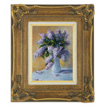 "Prizzi 11x14"" Ready Made Gold Leafing Wood Frame"