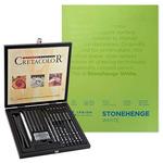 Cretacolor Black Box Drawing Value Art Set Beginner Drawing Sets