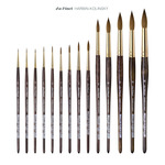 Da Vinci Harbin Kolinsky Watercolor Brushes
