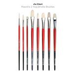 Da Vinci Maestro 2 Hog Bristle Brushes