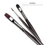 Da Vinci Peggable Oil and Acrylic Brush Sets