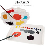 Darwin Stain Resistant Nano-Material Palettes - Butcher Tray & Flower Palette