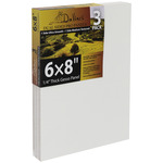 "Davinci Pro Panel 6mm Dual Smooth/Medium Texture Panel 6X8"" 3-Pack"