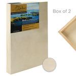 "Da Vinci Pro Birch Wood Painting Panel 2-1/2"" Panel (Box of 2) 24x24"""