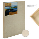 "Da Vinci Pro Birch Wood Painting Panel 7/8"" Panel (Box of 4) 18x18"""
