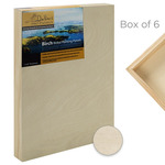 "Da Vinci Pro Birch Wood Painting Panel 1-5/8"" Panel (Box of 6) 6x6"""