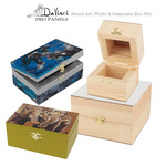 Art, Photo & Keepsake Wood Box Kits by DaVinci