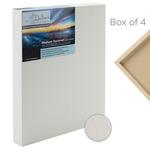 "Da Vinci Pro Medium Textured Gesso Panels 1-5/8"" Panel (Box of 4) 18x18"""