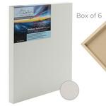 "Da Vinci Pro Medium Textured Gesso Panels 7/8"" Panel (Box of 6) 12x12"""
